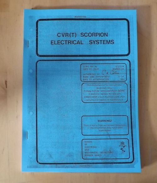 small resolution of scorpion electrical system cvr t